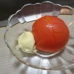 おかめ - 冷やしトマト(¥500−)