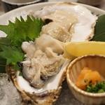 禅紫 - 15.10 牡蠣 自家製ポン酢で(650円)