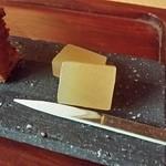珈道庵 三瀬山荘 - 芋羊羮がコーヒーに合います。