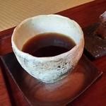 珈道庵 三瀬山荘 - ブレンド珈琲の「椿」を頂きました。