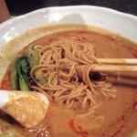 中国料理 五指山 - 麺は、細麺~本場型