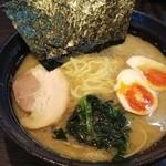 蔵前家 - ラーメン+味玉(全て普通)