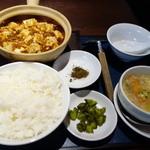 43295330 - 土鍋麻婆豆腐(花山椒添え)