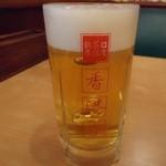 香港亭 - 生ビール 200kcal ?