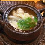 なか井 - 但馬(八鹿)産の松茸 土瓶蒸し