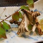 なか井 - 但馬(八鹿)産の焼き松茸