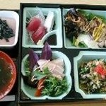 創作料理 とうぐら - 松花堂弁当1050円