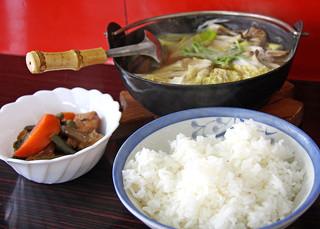開和食堂 - しょっつる鍋定食