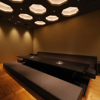個室からお座敷、テーブル席まで人数に合わせてご利用頂けます。