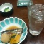 Kogureshokudou - 付き出し(イワシの煮付け)