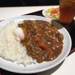 紅宝石 - 野菜たっぷり、ポークカレー  豚肉 バラ肉を厚切りに(生姜が焼きくらいの厚さ)