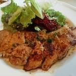 金色の午後 - やまゆり豚のステーキ