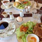 SAWAI COFFEE&TEA - 2015.10 モーニング