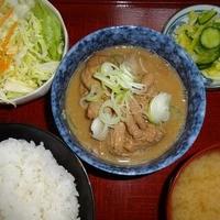 太田食堂 - もつは前日からじっくり煮込んで有ります