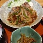 43331709 - 生姜焼き定食