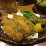 炭火居酒屋 のんべえ - 天ぷら