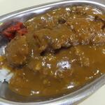 レストラン・テル - カツカレー600円