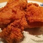 銀座洋食 三笠會館 - 若鶏の唐揚げ