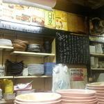 路地裏 - 歴史を感じさせる厨房