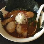 屋台拉麺一's - 味噌ラーメン(トッピングセット)