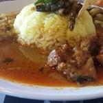 マータラ - チキンと野菜とレンズ豆のカレー