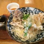 いけや食堂 - きのこいっぱい天ぷらうどん