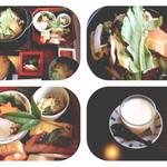 43338274 - 和食店:美酒鍋御膳(おちょこが、どこかに隠れています…*)