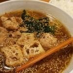 ちゃんこ鍋 弁慶 - ちゃんこラーメン(790円)