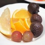 ウェスティンホテル東京 - 朝食:フルーツ