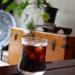 お休み処 梵天 - ドリンク写真:アイスコーヒー