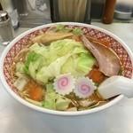 めん丸 - 野菜味噌ラーメン 820円