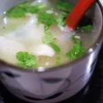 モンゴリアン・チャイニーズ BAO - 羊ちぎり麺 麺部分