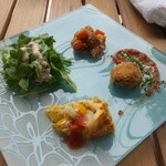 イタリアンレストラン テラッツァ - セットの前菜*四種類も嬉しいですよね♪