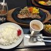 和風レストラン 魚勝 - 料理写真:2015年10月中旬  ジューシー祭りの『ステーキセット  ¥1.058』です。ボリュームのあるセットです。