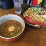 蝉時雨 - つけ麺大+味玉