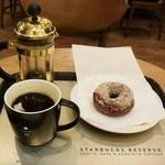 スターバックス コーヒー - バリヴィンテージクラシック&プレーンドーナツ