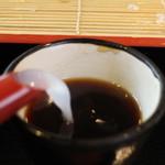 蕎麦 香寿庵 - 蕎麦湯