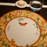 ル レストラン マロニエ - キレイなお皿です。