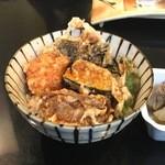 百壱 楠 - ミニ天丼