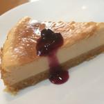 パパス キッチン - 料理写真:甘さ控えめのレアチーズケーキ