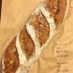 シュクレクール 四ツ橋出張所 - オレンジと栗のパン