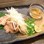 炭火串焼き&ワインバルEbisu - 白肝のたたき¥?