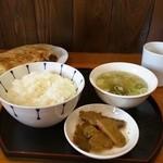 43346669 - 餃子定食580円