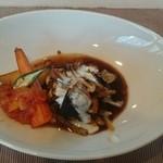 ポワソンルージュ - 料理写真:ランチの和牛すね肉の赤ワイン煮込み