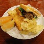 小古食堂 - ハンバーグトーストサンド
