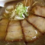 孝百 - 煮干そば(並)¥740円