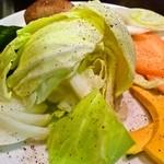 焼肉ぎゅうぎゅう - 焼き野菜