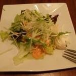 ブーンブーンキッチン - セットのサラダ