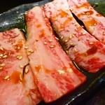 焼肉ぎゅうぎゅう - 中落ちカルビ