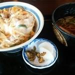 いな田 - 親子丼とミニ蕎麦